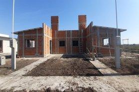 Tienen buen ritmo de avance las viviendas que se construyen en Concepción del Uruguay y Caseros