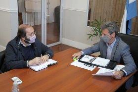 Trabajan en gestiones y obras necesarias para Enrique Carbó