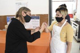 Destacan el compromiso de las cocineras y cocineros en los más de mil comedores escolares