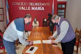 El CGE genera espacios formación junto al municipio de Valle María