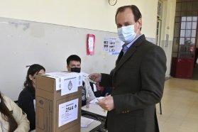 """Bordet votó en Concordia: """"Eso es la democracia, respetar las ideas del otro y defender las propias"""""""