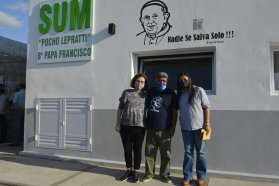 Provincia y Nación acompañan el crecimiento de espacios socio-comunitarios en La Paz