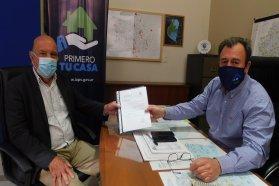 Trabajan en nuevas viviendas para los departamentos Uruguay y Victoria