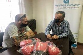 El gobierno acompaña el desarrollo del boxeo en la provincia