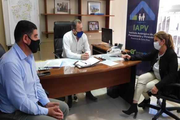 Gestionan nuevas viviendas para comunas y juntas de gobiernos del departamento Diamante