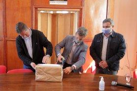 Con una inversión de más de 44 millones de pesos se licitó la construcción de la red de gas en Strobel
