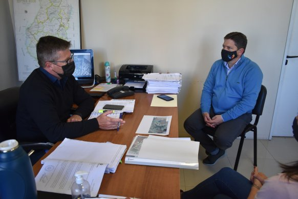 La provincia trabaja para el reconocimiento del parque industrial de Basavilbaso