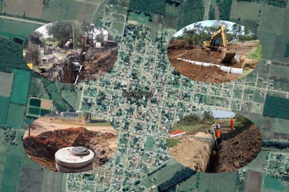 Con presupuesto de 220 millones de pesos se licita la obra del colector cloacal e instalación electromecánica de Cerrito