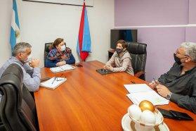 Coordinan mejoras para caminos productivos del departamento La Paz