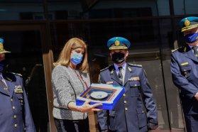 El gobierno provincial acompañó la inauguración de una nueva dependencia de la Policía Federal en Gualeguaychú