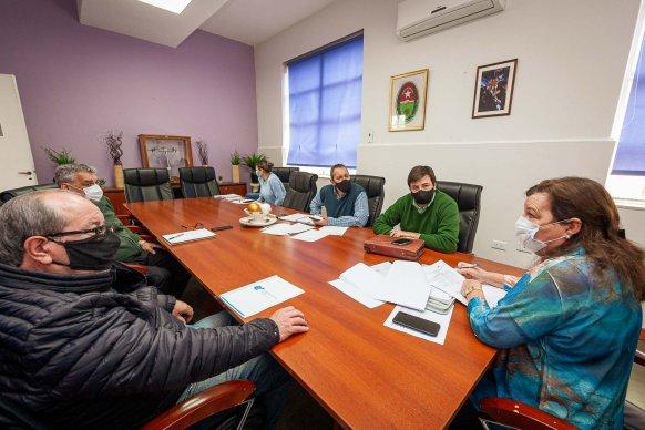 Repasan obras viales para los departamentos Gualeguay y Tala