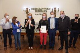 Se entregaron aportes para Juntas y Comunas del departamento Gualeguaychú