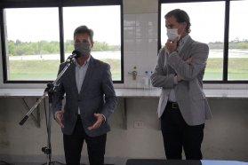 Se firmó el contrato de inicio de obra para la ampliación de la planta de tratamiento cloacal en Gualeguaychú