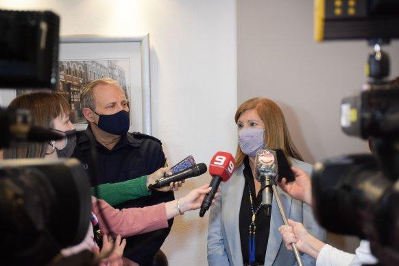 La ministra Romero destacó la labor policial en el operativo por el cual secuestraron 433 kilos de cocaína