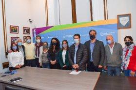 Provincia y Nación articulan políticas sociales y de primera infancia con el municipio de Gualeguaychú