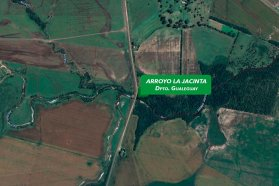 Llamaron a licitación para construir un nuevo puente sobre Arroyo La Jacinta