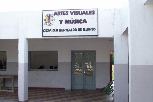 Inició la construcción del nuevo edificio de la escuela Quirós de Rosario del Tala