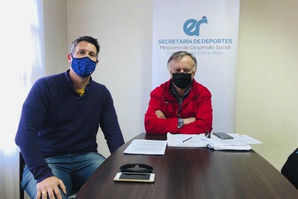 El gobierno provincial se interioriza en la actualidad de los clubes entrerrianos