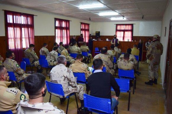 Capacitan a la Policía en procedimientos para mejorar la fiscalización de la Ley de Plaguicidas