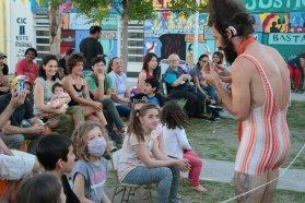 Se realizó el primer encuentro ImaginaTelón en barrios de Paraná