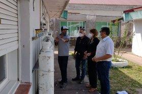 El hospital San Miguel de Bovril ya cuenta con red de oxígeno centralizado
