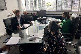 Encuentro junto a funcionarios nacionales para avanzar en obras relevantes de Gualeguaychú y Concordia