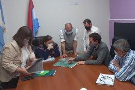 Analizan y proyectan tareas de conservación en la localidad de Villa Elisa