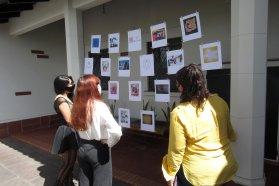 La Poesía Visual le puso color primaveral al Museo Provincial Eva Perón