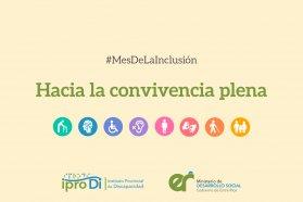 Bajo el lema Hacia la convivencia plena, Entre Ríos celebra en octubre el Mes de la Inclusión