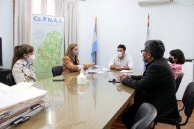 El Copnaf firmó un acuerdo de cooperación mutua con la Facultad de Humanidades de la Uader