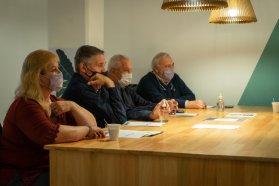 Autoridades del Becario expusieron el programa Puente al Trabajo en Concordia