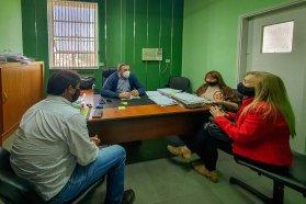 Analizan obras viales para Estación Sosa en el departamento Paraná