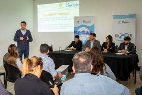El Becario explicó en Villaguay los lineamientos de su  nuevo programa de oportunidades laborales para estudiantes