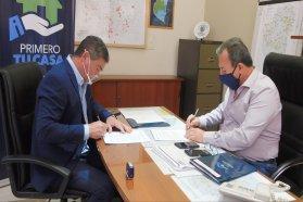 Se rubricaron convenios para la construcción de 74 viviendas en tres localidades entrerrianas