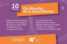 Día mundial de la Salud Mental: Entre Ríos profundiza el trabajo territorial e intersectorial en la materia