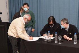 San Salvador y General Campos adhieren al Programa de Fortalecimiento Municipal para Control de Alimentos