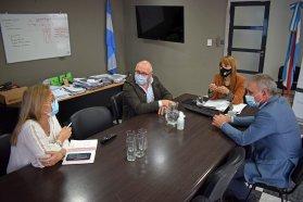 La ministra de Salud se reunió con el intendente de Crespo y las autoridades sanitarias locales