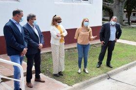 Inauguraron obras en el hospital Fidanza de Colonia Ensayo