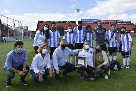 Los Murciélagos participaron de una actividad junto a instituciones entrerrianas por el Mes de la Inclusión