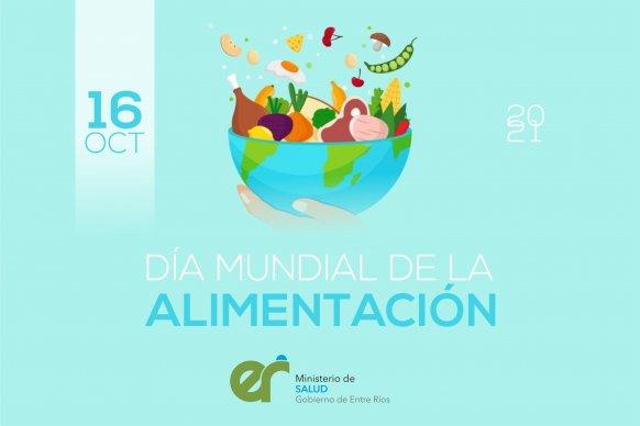 Promueven distintas actividades en el marco del Día Mundial de la Alimentación