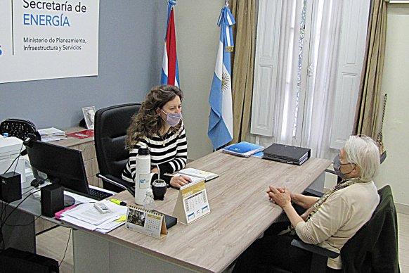La Secretaría de Energía coordina acciones conjuntas con la Asociación Entrerriana de Mujeres Campesinas