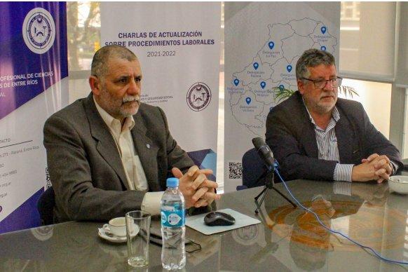 La Secretaría de Trabajo y el Consejo Profesional de Ciencias Económicas realizan acciones en conjunto