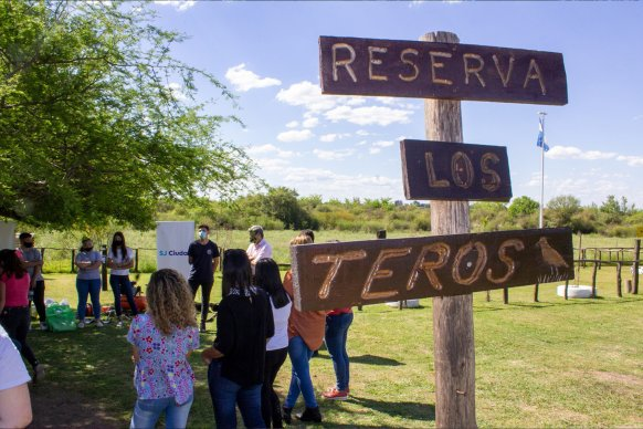 Con el acompañamiento de la provincia, jóvenes de San José desarrollan tareas de cuidado del ambiente y ecoturismo