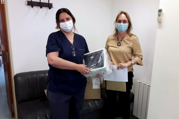 Agenda de trabajo con hospitales de los departamentos Colón y Uruguay